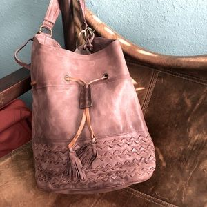 A.S.98 [Free People] Jace Drawstring Bucket Bag